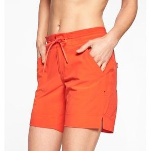 [Athleta] Rincon Bermuda Boardshort Orange